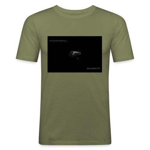 Lost Ma Heart - Men's Slim Fit T-Shirt