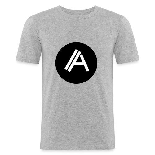 Logo Andyboy - Männer Slim Fit T-Shirt