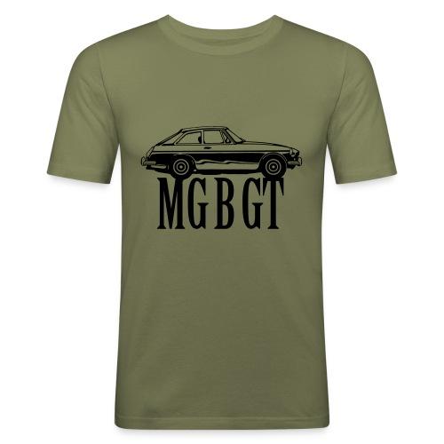 MG MGB GT - Autonaut.com - Men's Slim Fit T-Shirt
