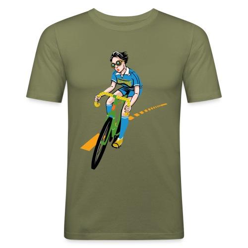 The Bicycle Girl - Männer Slim Fit T-Shirt