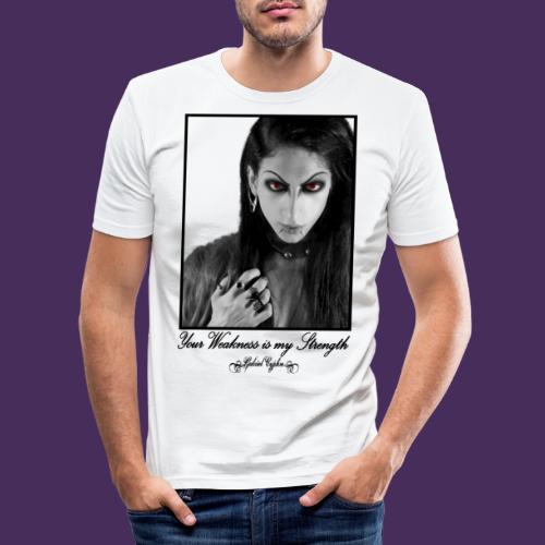 Modello 35 png - Men's Slim Fit T-Shirt