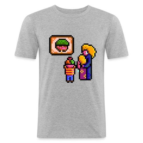 familycri - Slim Fit T-skjorte for menn