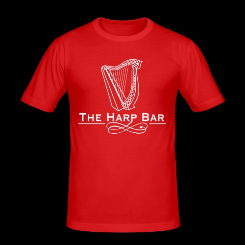 Logo The Harp Bar Paris - T-shirt près du corps Homme