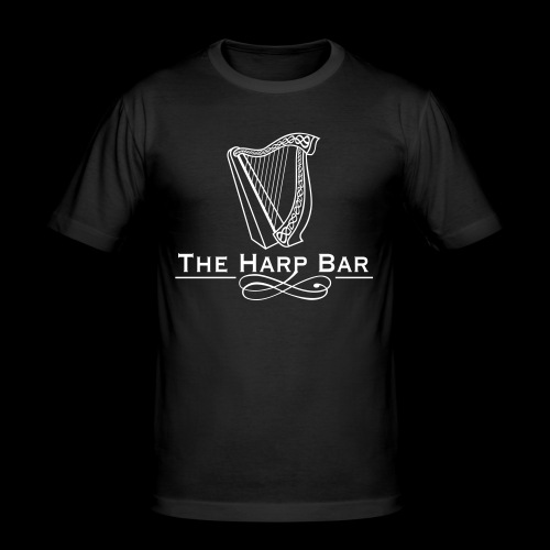 Logo The Harp Bar Paris - T-shirt près du corps Homme