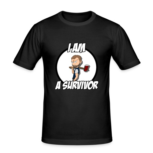 Game Survivant - T-shirt près du corps Homme