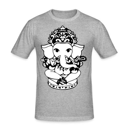 Wee Ganesh - Men's Slim Fit T-Shirt