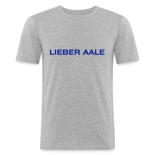 lieberaale - Männer Slim Fit T-Shirt