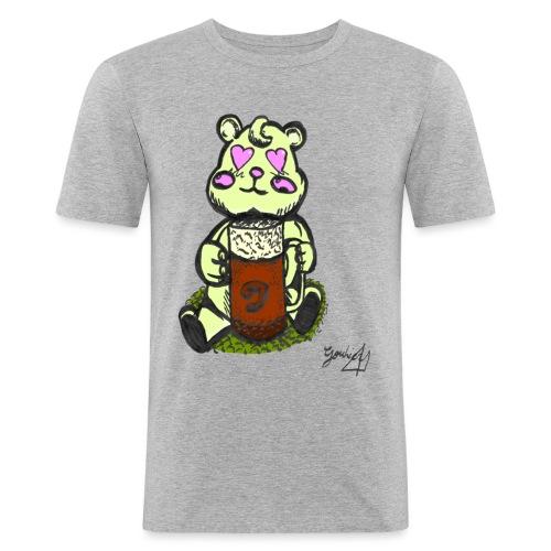 Ours Amoureux AngelerasCorp - T-shirt près du corps Homme