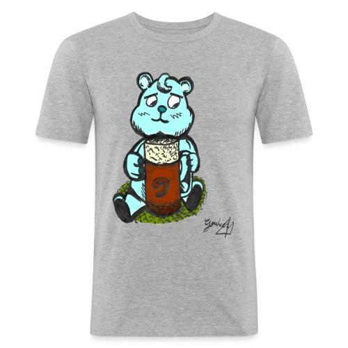 Ours Triste AngelerasCorp - T-shirt près du corps Homme