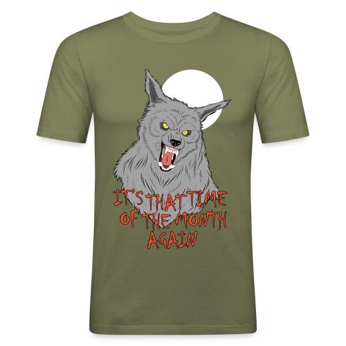That Time of the Month - Obcisła koszulka męska