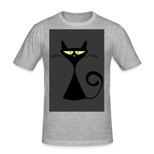 Cat - Männer Slim Fit T-Shirt