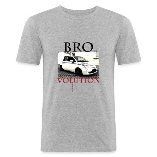 Bro 2K19 Brovolution 500 Style - Männer Slim Fit T-Shirt