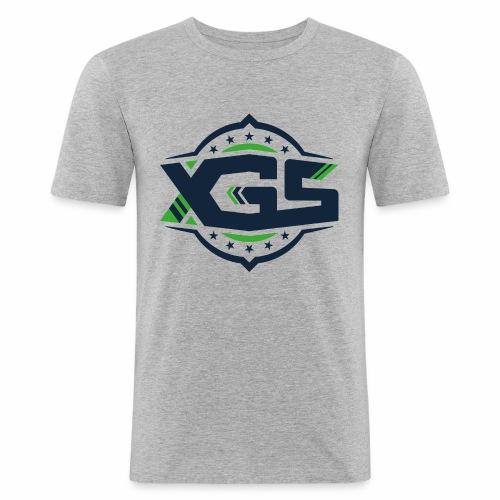 XGS black - Männer Slim Fit T-Shirt