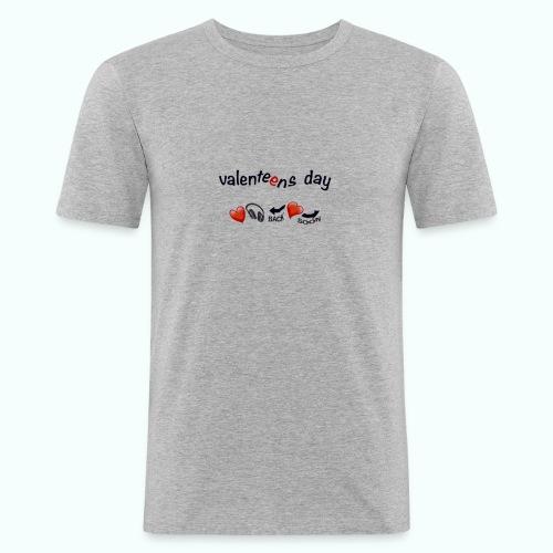 valenteens day - Männer Slim Fit T-Shirt
