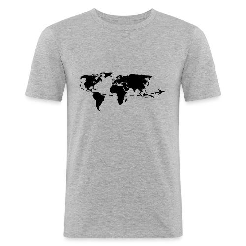 My world - T-shirt près du corps Homme
