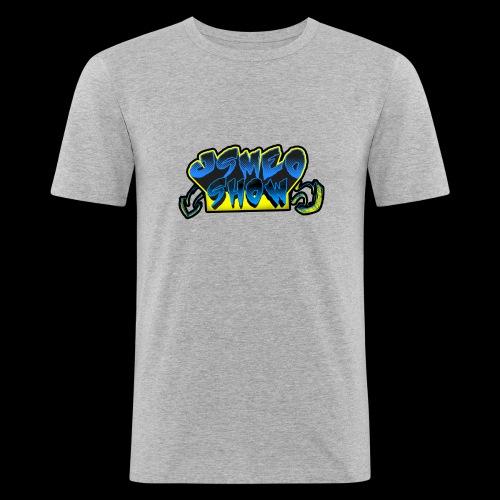 Logo Jsmeoshow - T-shirt près du corps Homme