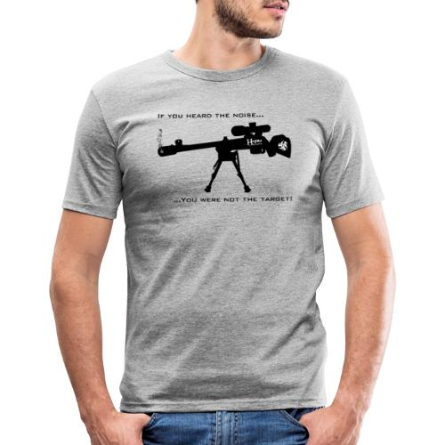 If you heard the noise - Men's Slim Fit T-Shirt