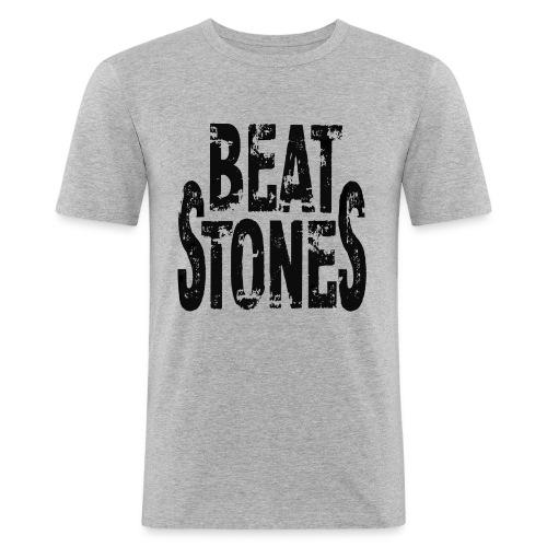 beatstones 1 - Männer Slim Fit T-Shirt