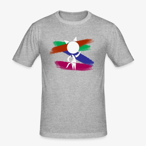 Prototype Shirts-WhiteTiger5B Logo shirt - Men's Slim Fit T-Shirt