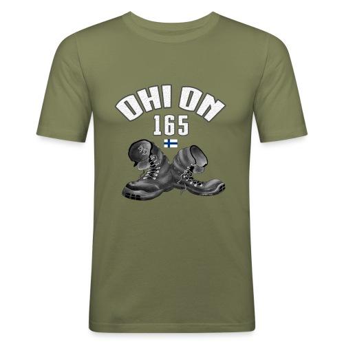 OHI ON 165 - SUOMEN INTTI T-PAIDAT JA 150 TUOTETTA - Miesten tyköistuva t-paita