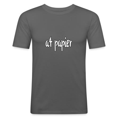 A4Papier - Mannen slim fit T-shirt
