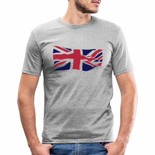 British Flag - Men's Slim Fit T-Shirt