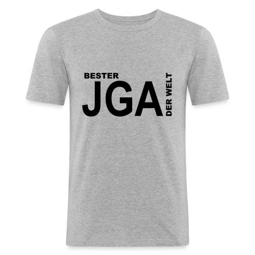 Bester JGA der Welt - Männer Slim Fit T-Shirt