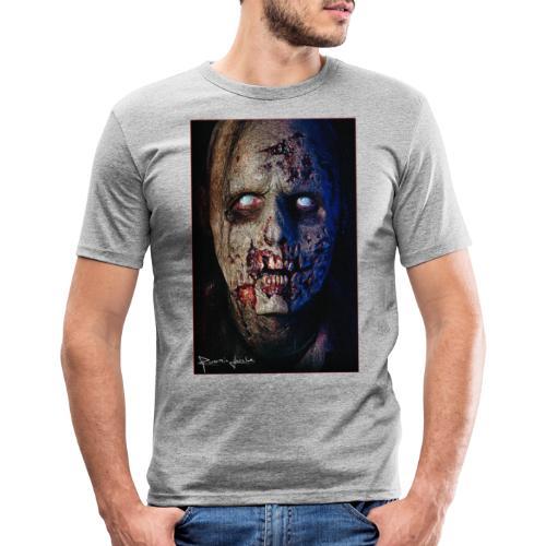 Zombie 01 - T-shirt près du corps Homme