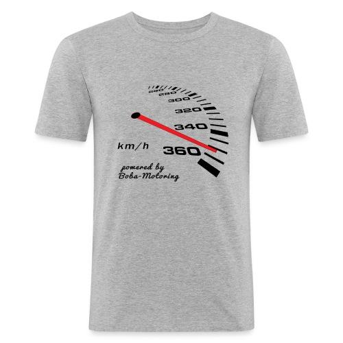 Turbo Tacho free - Männer Slim Fit T-Shirt