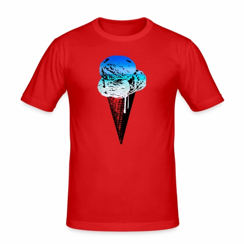 Ice Cream Paradise - Männer Slim Fit T-Shirt