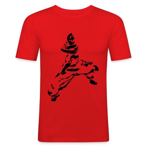 kungfu - Men's Slim Fit T-Shirt