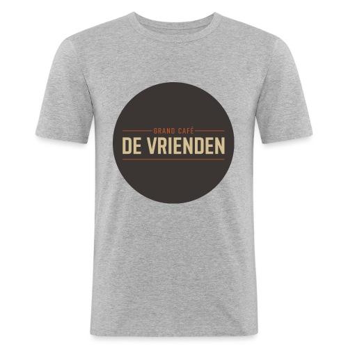 De vriendenclub - Mannen slim fit T-shirt