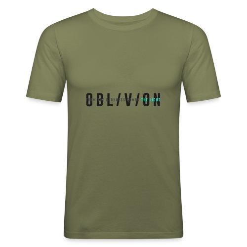 OBL/V/ION - Maglietta aderente da uomo