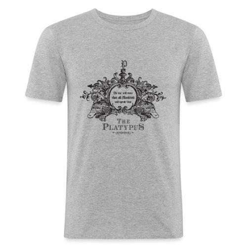 Platypus - Mannen slim fit T-shirt