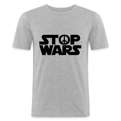 Stop Wars - T-shirt près du corps Homme