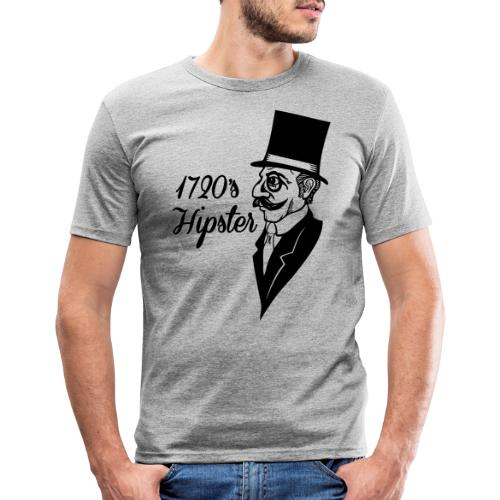 1720 hipster - Mannen slim fit T-shirt