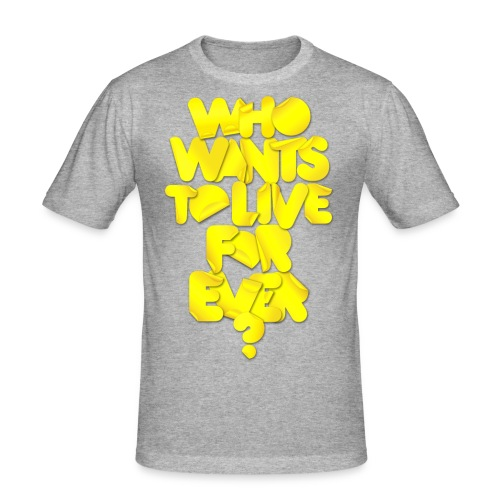 whowants? - Maglietta aderente da uomo
