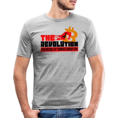 Die Bitcoin Revolution - BTC Revolution - Männer Slim Fit T-Shirt