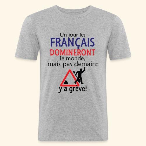 domination française - T-shirt près du corps Homme