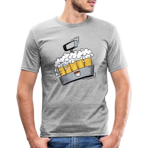 Kölsche Sticker - Kranz.png - Männer Slim Fit T-Shirt