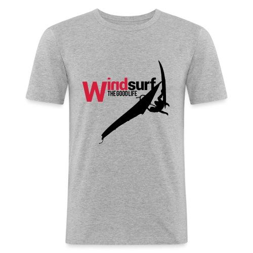 Windsurf - Maglietta aderente da uomo