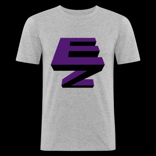 Electric Zoo logo - Men's Slim Fit T-Shirt