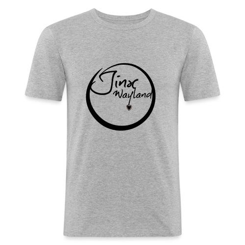Jinx Wayland Circle - Men's Slim Fit T-Shirt