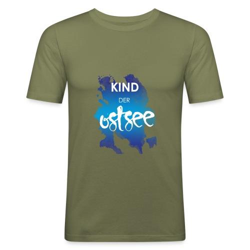Kind der Ostsee - Männer Slim Fit T-Shirt