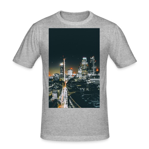 London night light - Men's Slim Fit T-Shirt