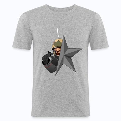 Kolibri Service Star - Men's Slim Fit T-Shirt