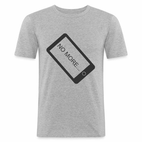 No More Smartphone - T-shirt près du corps Homme