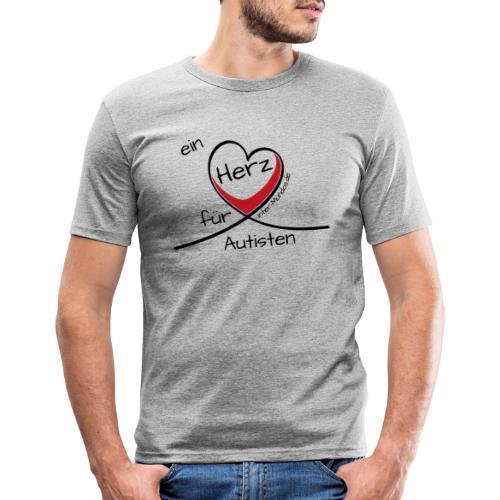 Ein Herz für Autisten - Männer Slim Fit T-Shirt