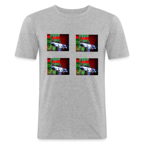 Banner Template 4 1 2 png - Men's Slim Fit T-Shirt