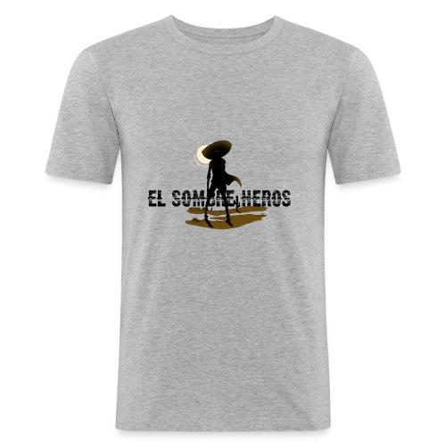 El Sombrero - T-shirt près du corps Homme